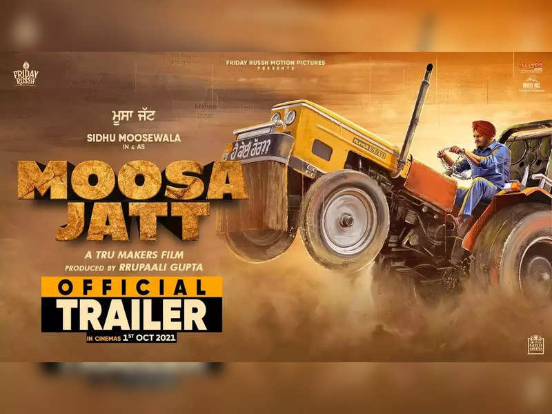 The trailer of Sidhu Moosewala's 'Moosa Jatt' is all about a desi guy's love for his tractor, land, and his lady