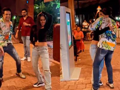 Krushna-Kashmera groove to Mika's song
