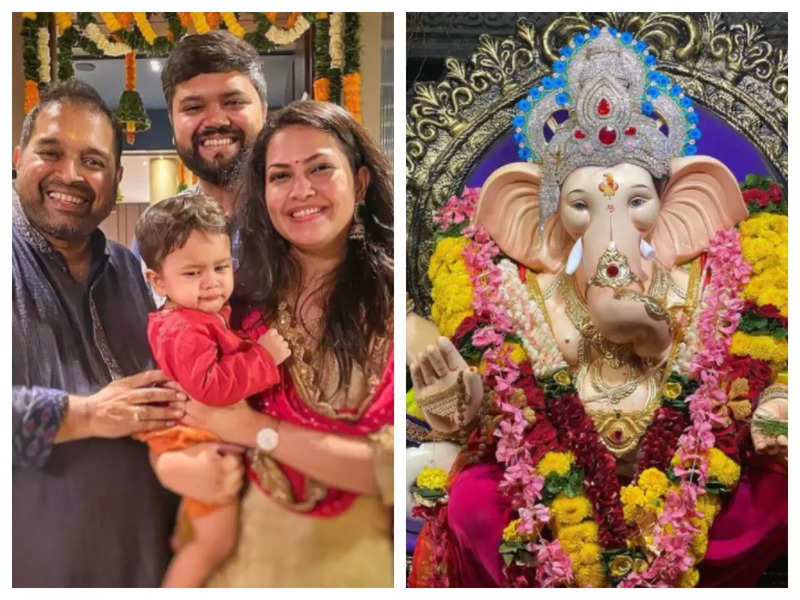 Priyanka Barve visits Shankar Mahadevan's home for the Ganpati celebration; says 'It was truly divine and the music is still resonating inside'