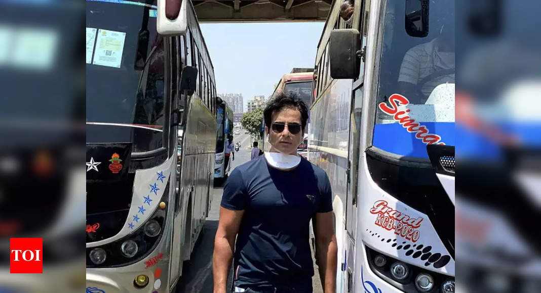 Twitter Faceoff: I-T survey on Sonu Sood invites wrath | India News – Times of India