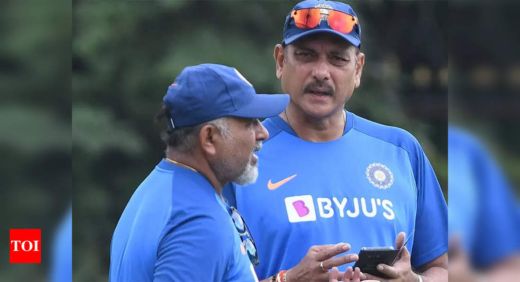 Shastri, Arun, Sridhar awaiting 'fit to fly' certificate in order to return home: BCCI official | Cricket News – Times of India