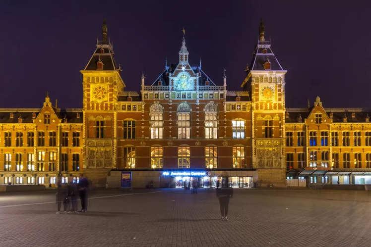 Amsterdam Central Station (Netherlands)