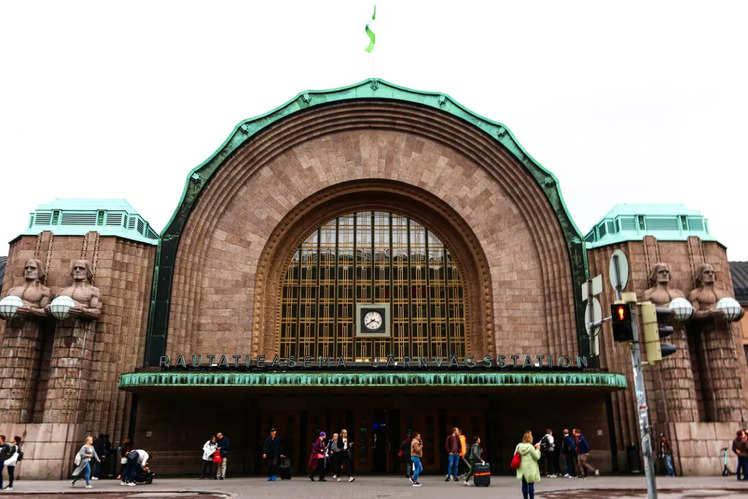 Helsinki Central Station (Finland)
