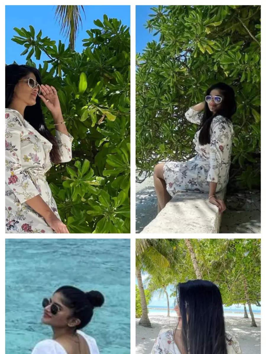 Megha Akash and her Maldives Vacay