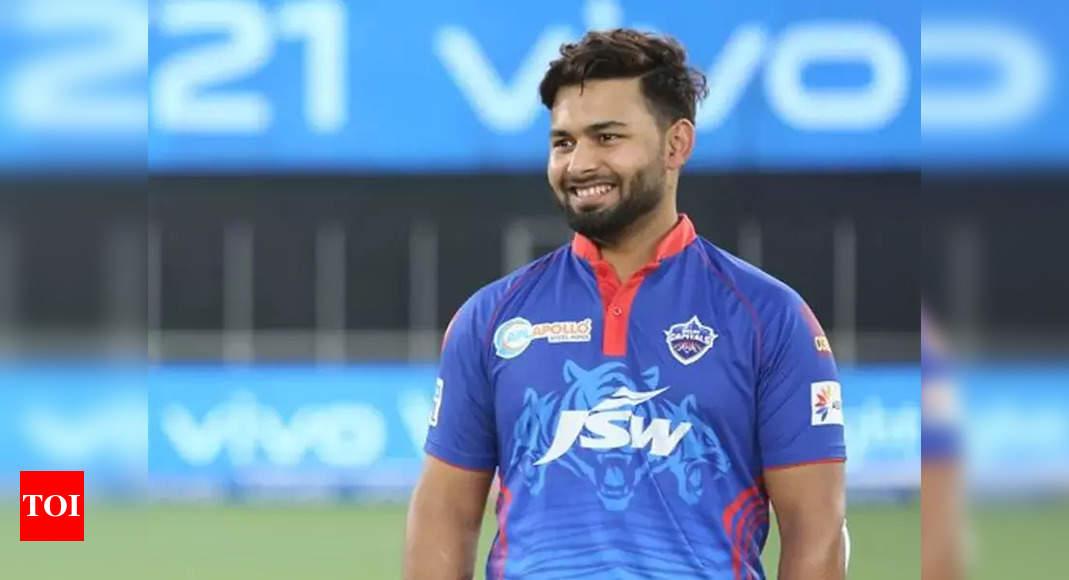pant:  Delhi Capitals retain Rishabh Pant as captain for remainder of IPL 2021 | Cricket News – Times of India