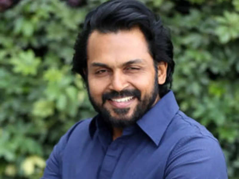 Karthi completes shooting for Ponniyin Selvan