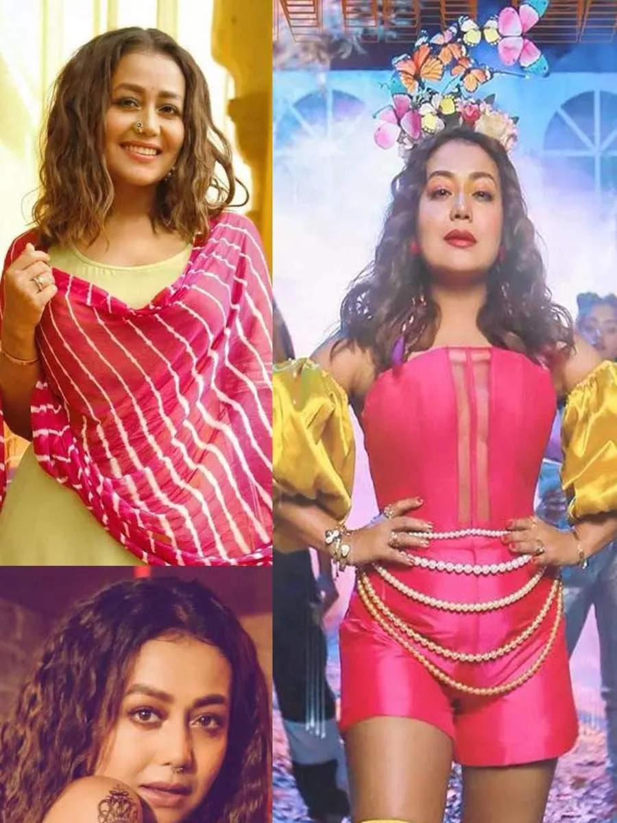 Neha Kakkar's most interesting on-screen looks