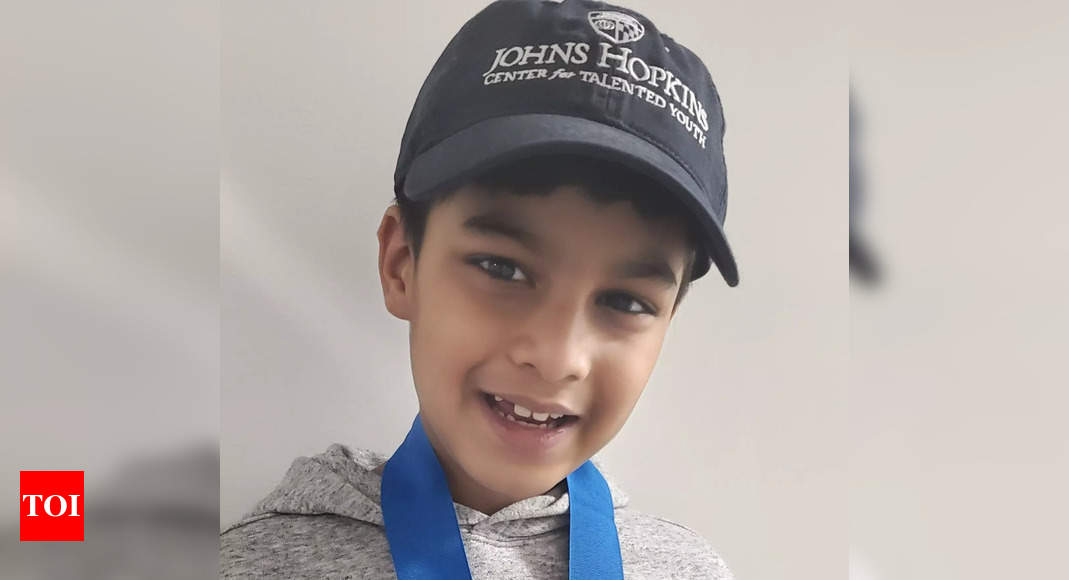 8-year-old Delhi boy named one of the brightest students in the world by Johns Hopkins University – Times of India