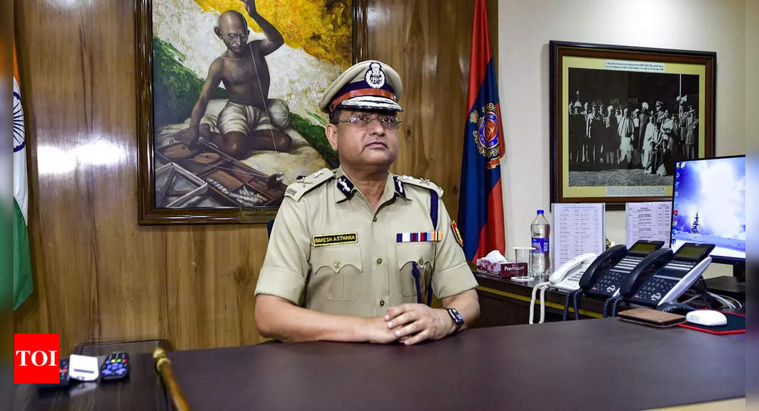 Centre defends Rakesh Asthana's appointment as Delhi Police Chief in HC | India News – Times of India