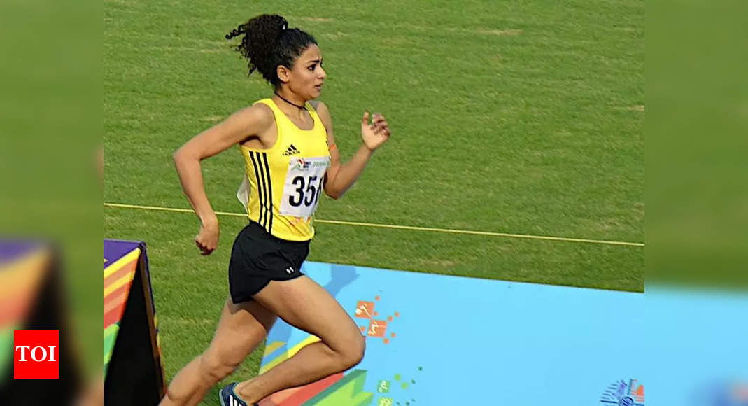 Post Tokyo heartbreak, Harmilan returns to shatter 1500m National Record | More sports News – Times of India