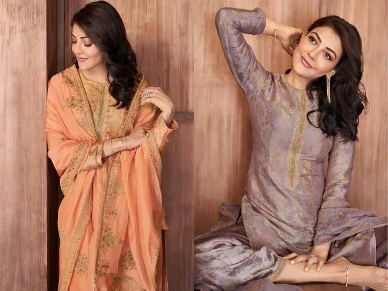 Kajal Aggarwal showcases 6 salwar kameez every BRIDE should have in her wedding trousseau