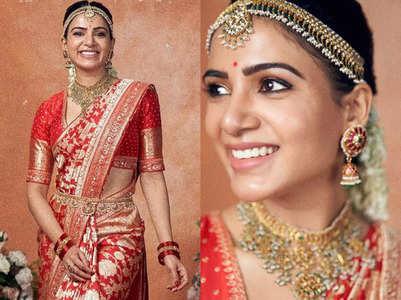 Samantha Ruth Prabhu in Benarasi sari