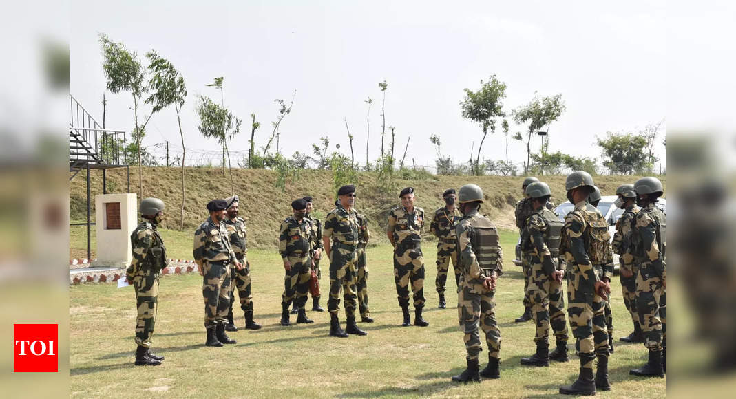 New BSF DG on two-day Jammu visit, reviews security in Samba, Kathua