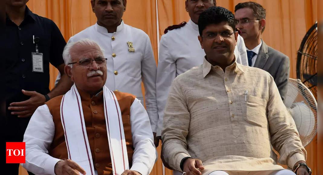 JJP chief Ajay Chautala: Why should Dushyant Chautala resign, did he frame the farm laws?