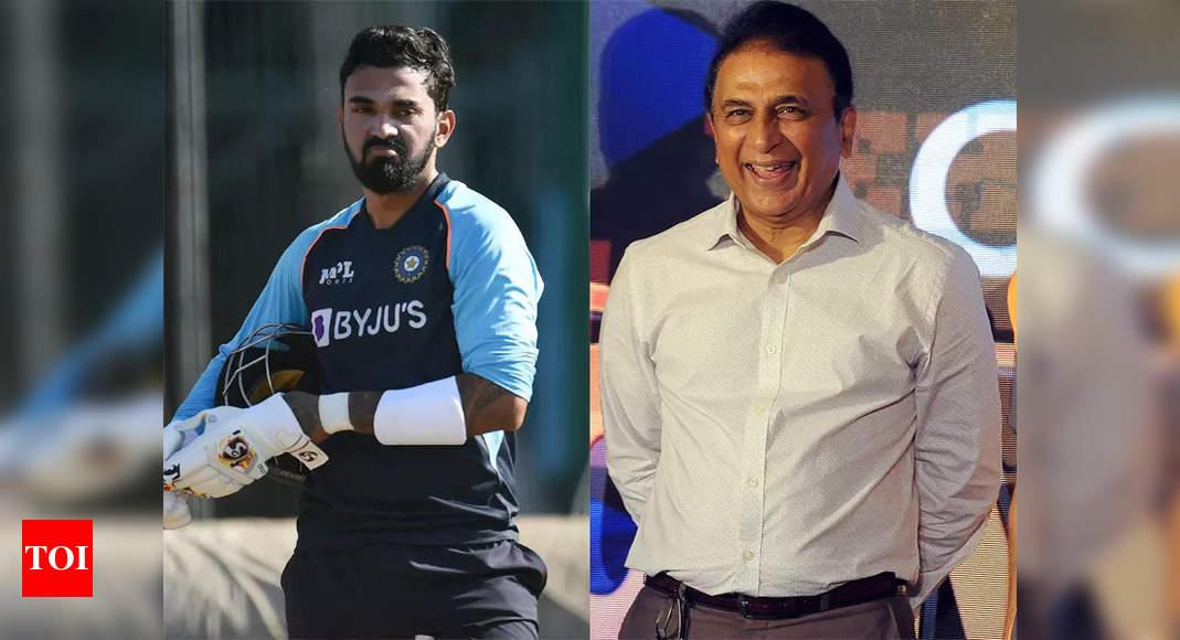 KL Rahul can be groomed as a future India captain: Gavaskar