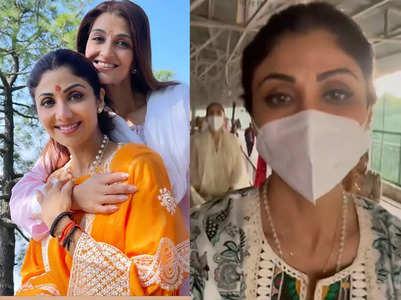 Shilpa posts pics from her Vaishno Devi trip