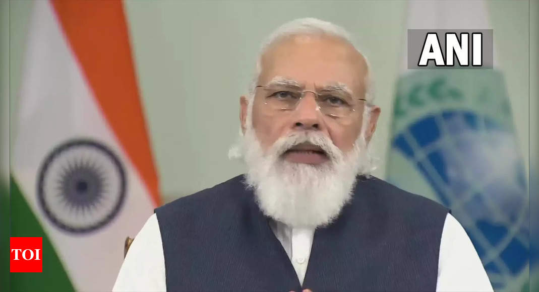 SCO Summit 2021: Radicalization a big challenge; PM Modi cites Afghanistan at SCO meet | India News - Times of India