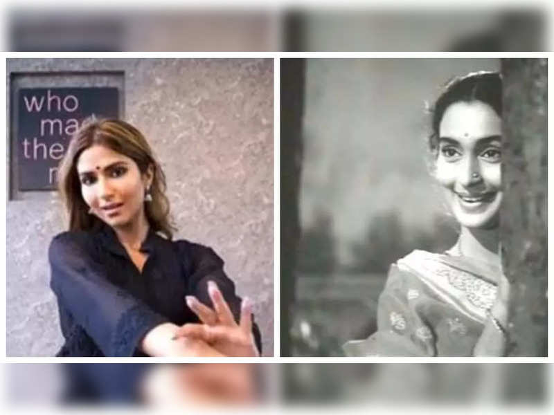 Pranutan Bahl opens up about recreating Nutan's timeless melody, says she feels honoured when people talk about her resemblance to her grandmother
