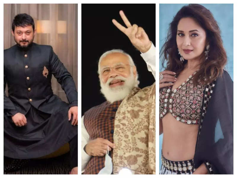 Happy Birthday PM Narendra Modi: Madhuri Dixit, Swwapnil Joshi, Riteish Deshmukh and other celebs extend warm wishes
