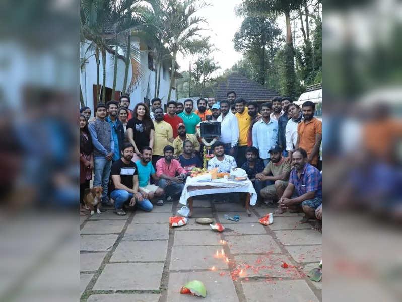 J Karthik, Kavya Shetty and team wrap up second schedule of Kaada