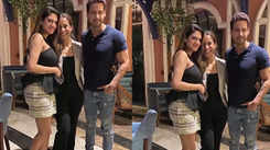 Nusrat Jahan and Yash Dasgupta spotted together at dinner party