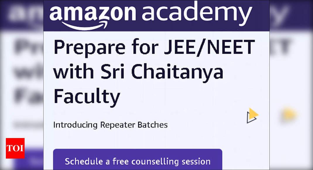 Amazon Academy, Sri Chaitanya join hands for engineering, medical entrance exams