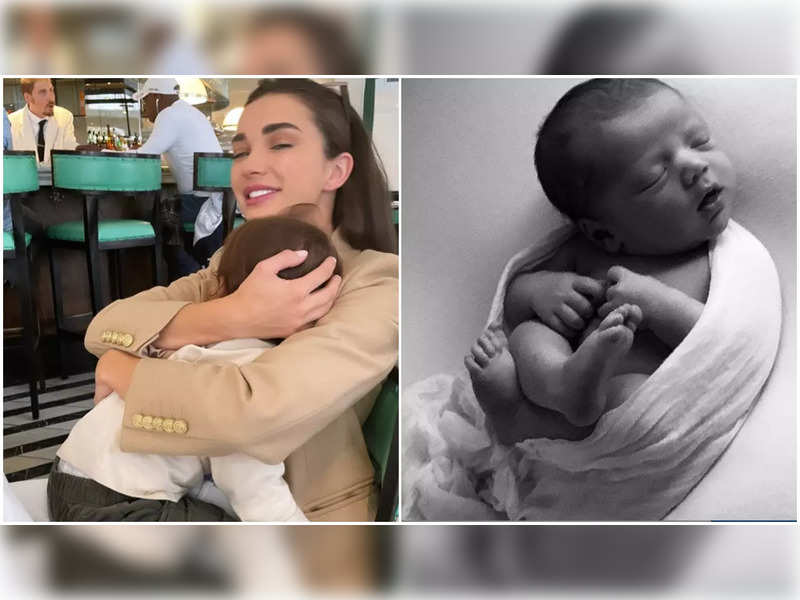 Amy Jackson has the sweetest wish for her baby boy's second birthday