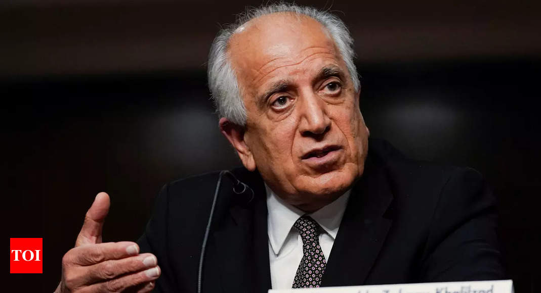 Afghan: Khalilzad 'to reflect' on what US could have done differently