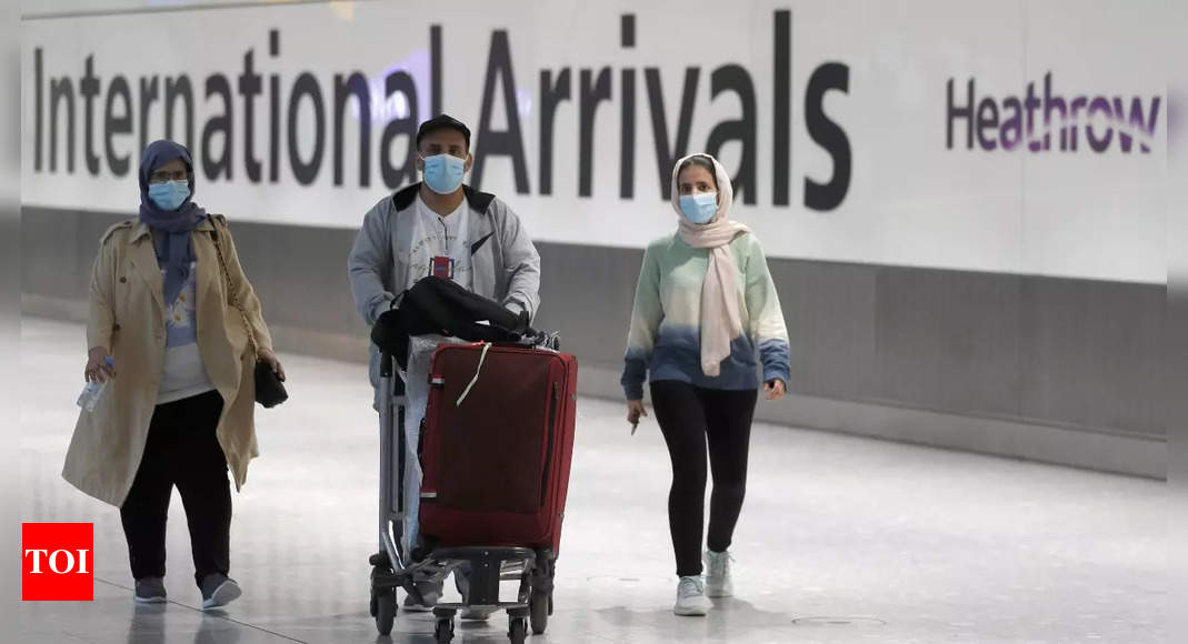 UK eases rules for vaccinated travellers, India to benefit