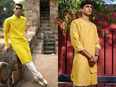 What men can wear on their Haldi function