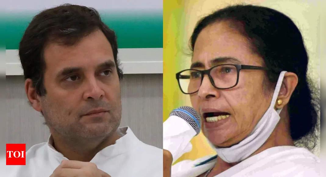 Mamata, not Rahul Gandhi, face of opposition against Modi: TMC