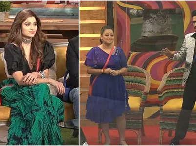 Shamita praises Bharti for her weight loss