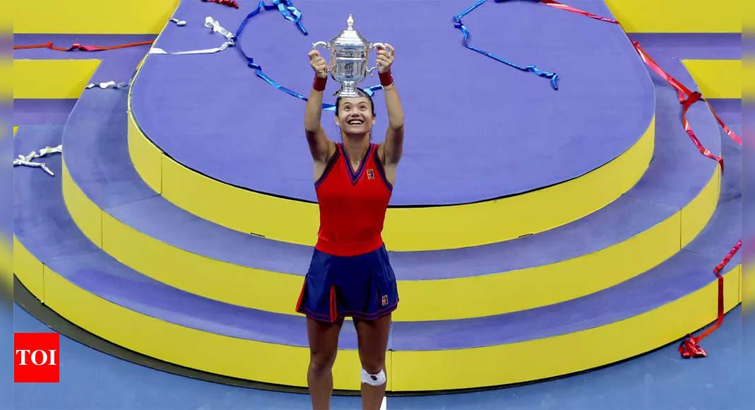 raducanu:  Raducanu's grandmother wanted her to quit tennis after Wimbledon health scare   Tennis News – Times of India