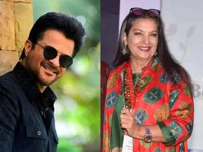 Anil Kapoor's wishes happy b'day to Shabana
