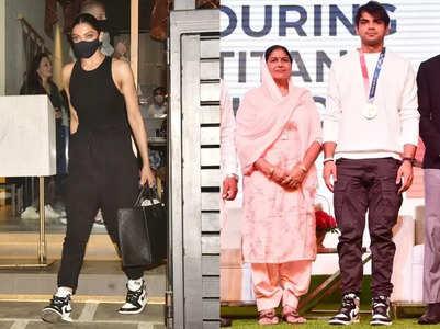 Deepika and Neeraj own the same pair of shoes!