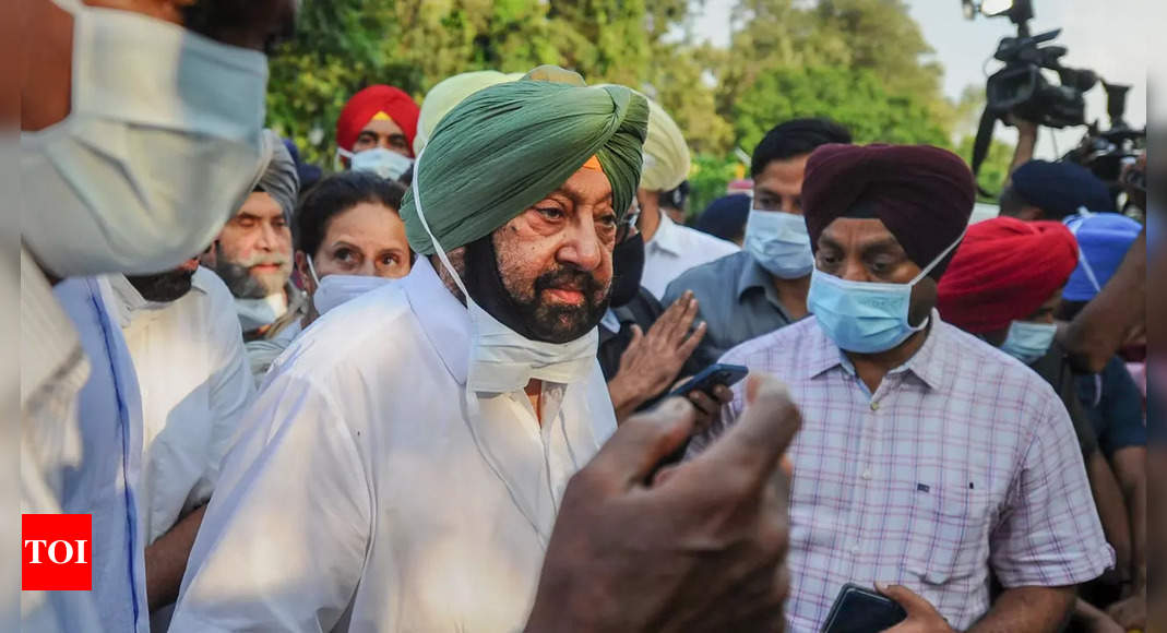 'Fail to understand …': Amarinder fumes at Congress leadership after quitting as CM