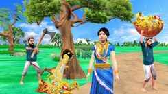 Watch Latest Children Hindi Nursery Story 'Wood Cutter Magical Gold Tree' for Kids - Check out Fun Kids Nursery Rhymes And Baby Songs In Hindi