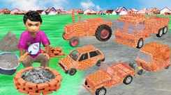 Watch Latest Children Hindi Nursery Story 'Garib Ka Mini Brick Vehicles' for Kids - Check out Fun Kids Nursery Rhymes And Baby Songs In Hindi