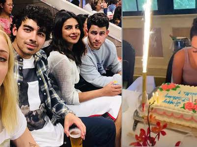 Priyanka-Nick shower love on Danielle Jonas
