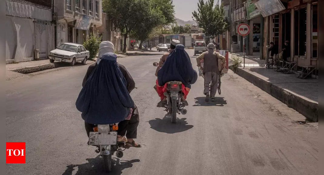 taliban: Stay home, say Taliban to female Kabul city workers – Times of India