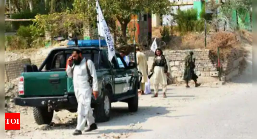 taliban: Blast targets Taliban truck in eastern Afghan city – Times of India