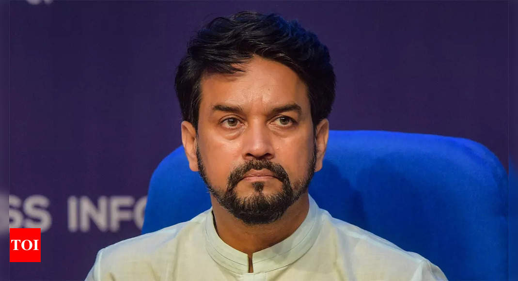 Anurag Thakur to interact with sports ministers of states and UTs, discuss roadmap for future | More sports News – Times of India