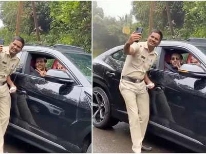 Kartik loses his way; Cop clicks selfie with him instead