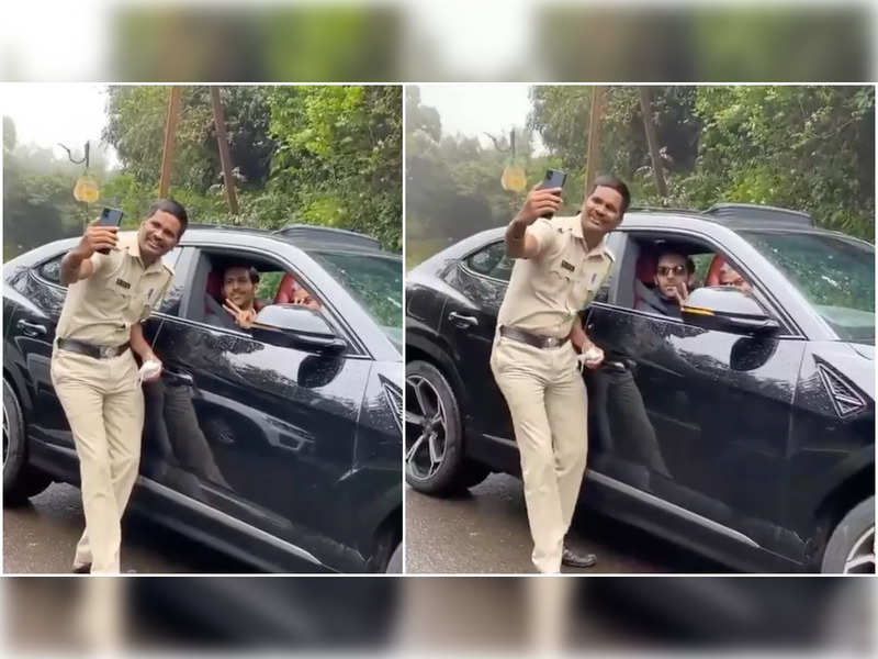 Kartik Aaryan loses his way while driving in Panchgani; Asks help from a cop who clicks selfie with him instead