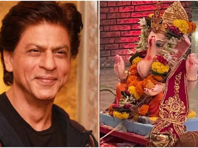 SRK sends out Ganpati wishes for his fans