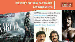 From Sudeep speaking about his COVID ordeal to Upendra's birthday announcements, newsmakers are back!