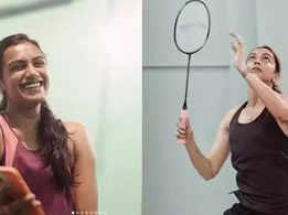 Movies Live blog: Deepika Padukone takes on PV Sindhu on the badminton court