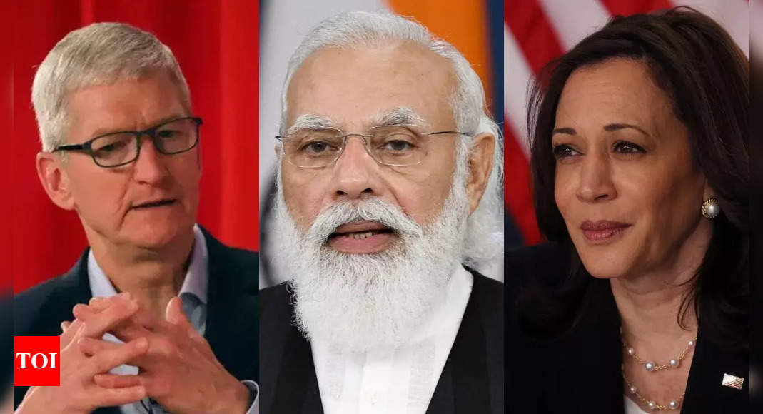 Meeting with VP Kamala Harris, Apple chief Tim Cook also on cards during PM Modi's US visit