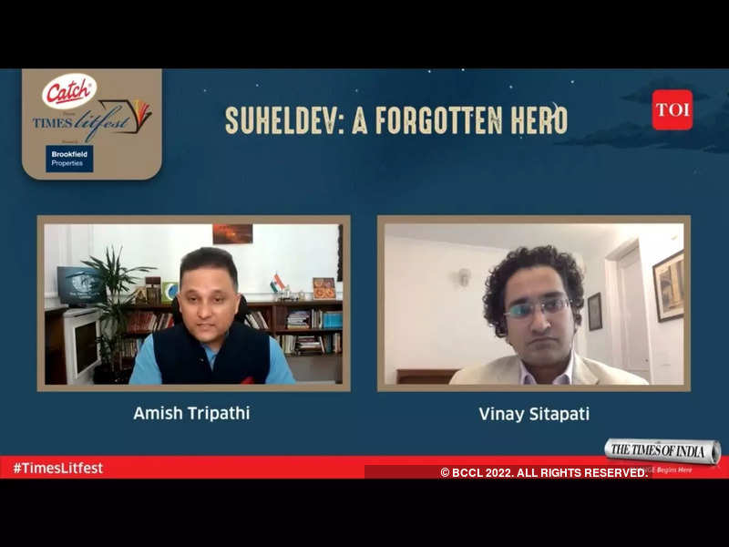 Amish Tripathi in conversation with Vinay Sitapati at the Times Litfest 2021