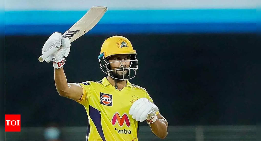 IPL 2021: Gaikwad shows the way as Chennai Super Kings script a familiar victory story | Cricket News – Times of India